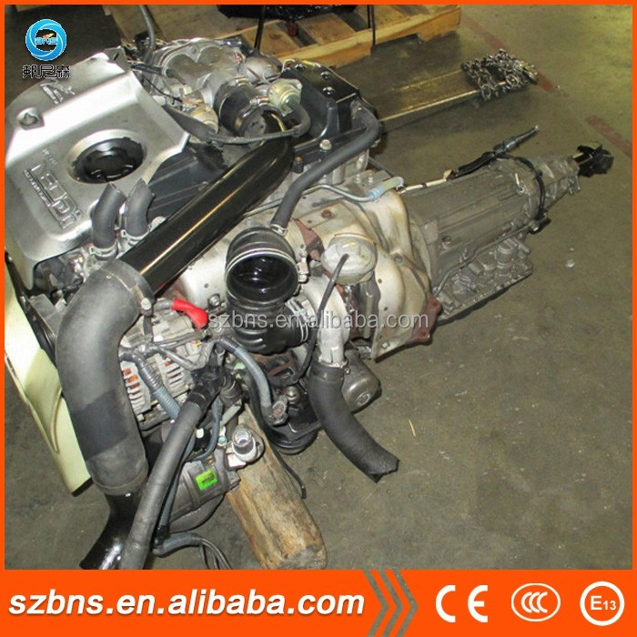 Genuine completely parts used ZD30 diesel engine and manual transmission