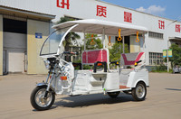 India popular big wheel electric rickshaw /3 wheel tricycle with cheapest price