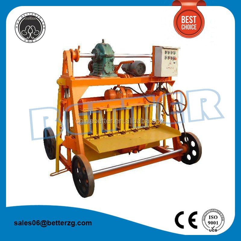 Water conservation brick making tools block making machines