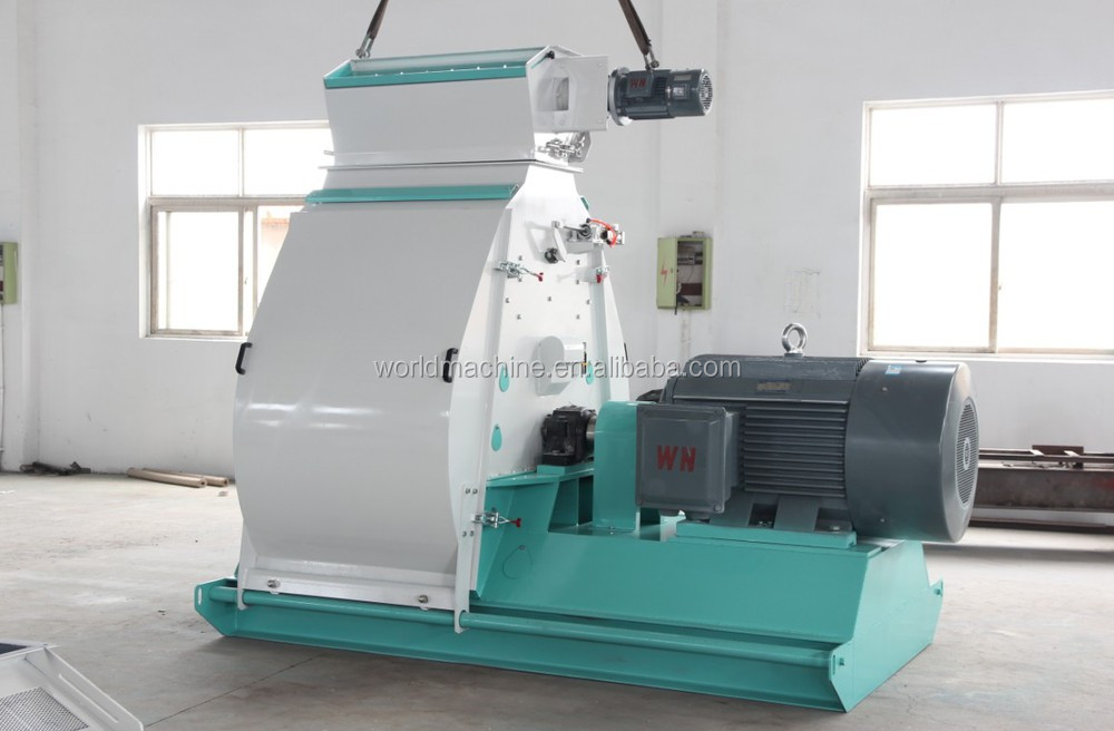2017 Hot Sale Industrial Wood Hammer Mill