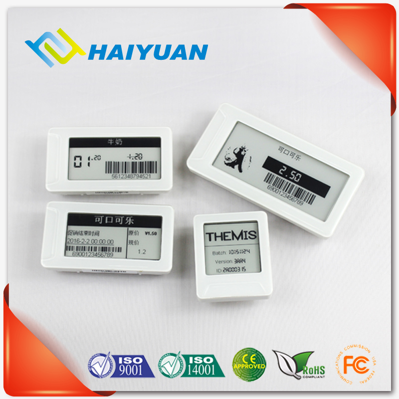 Market shelf management system electronic shelf label tag