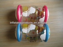 Happy inflatable baby play roller musical