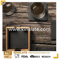 Mats&Pads Table Decoration&Accessories Type and Stocked,Eco-Friendly Feature Slate Coaster