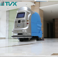 2017 high quality 230KG lead-acid battery robot cleaner for sale