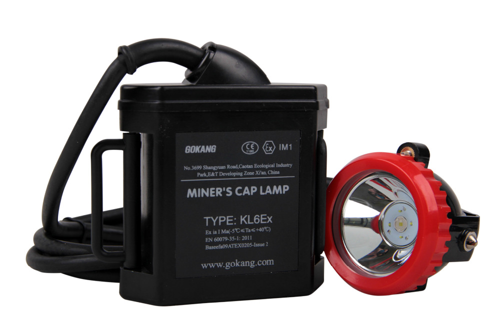 ATEX underground mining light, led miners headlamp, 16 hours working time miners cap lamp