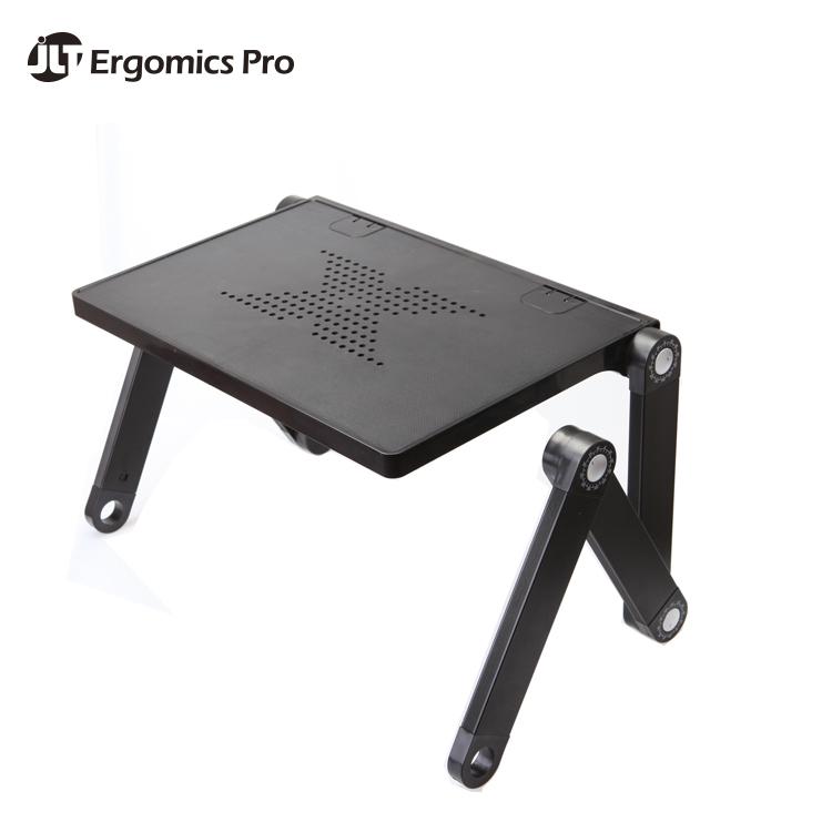 Soporte del ordenador port til de escritorio bandeja de cama plegable port til ajustable - Futon portatil ...