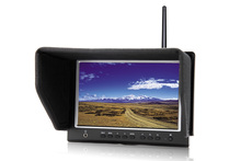 7 inch IPS LCD FPV Monitor First Person View Monitor with 1280 x 800 resolution, HD MI & AV inputs for Aerial Photography