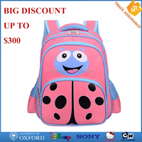2016 New Designs Wholesales Branded Child School Bag Kids Pink School Backpack Bags for Girl