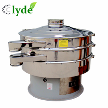 Fine screen stainless steel plant powder sifter