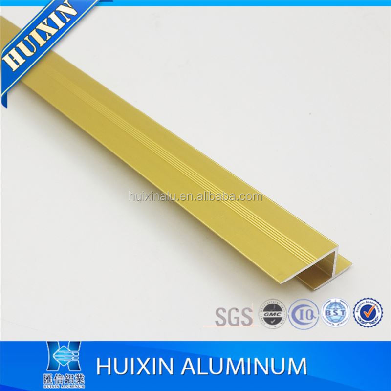 l shaped flexible aluminum corner tile trim