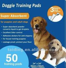 100% disposable puppy pet training pad