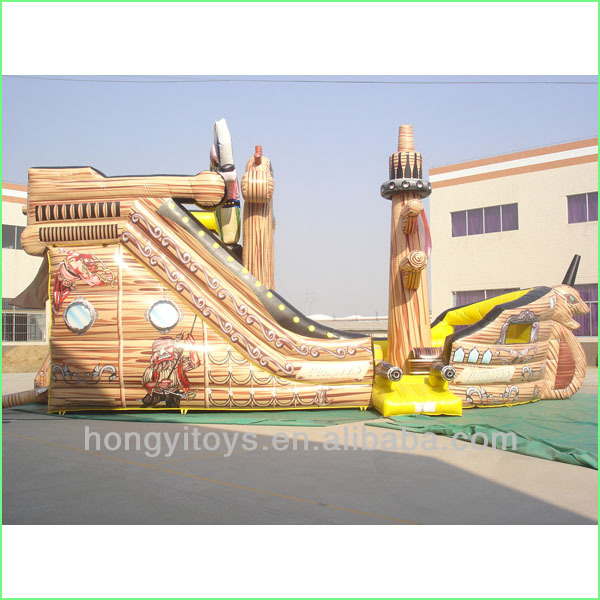 The Pirate Ship Inflatable Discount Bouncy