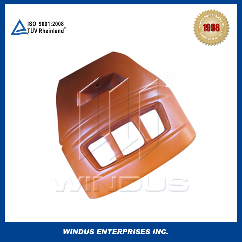 High quality tractor cast iron v process counterweight