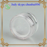 empty loose powder container 30g cosmetic powder compact