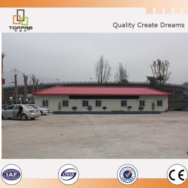 Modular container houses sandwich panel prefab house largely exporting