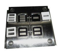 High precision 86 type wall switch plastic panel injection mold electric jack socket housing parts mould