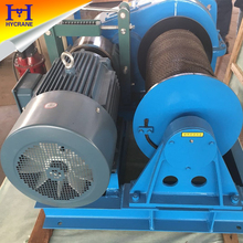 Professional manufacturer electric winch for sale