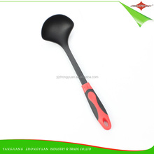 ZY-A11125 New Design Food Grade Cooking Tools Large Nylon Soup Ladle