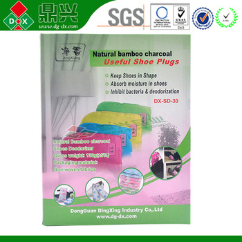 Shoes odor removal manufacture