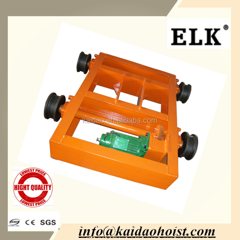 ELK Crane Double Track Trolley, End Carriage
