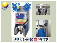Automatic Customized boba tea cup sealing machine