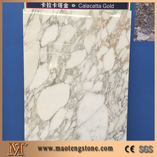 Natural stone calacatta gold marble color tiles and marbles flooring