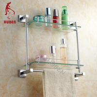 Useful China Import Two Layers glass Shelf