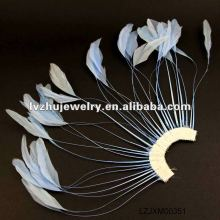 feather hair flowers clips & pins LZJXM00351