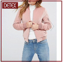 Wholesale Clothing Low Price Pink Women Winter Jacket 2016