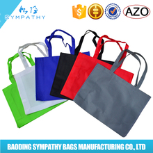 China wholesale Promotional Cheap foldable non woven bag price,eco reusable colorful non woven shopping bag