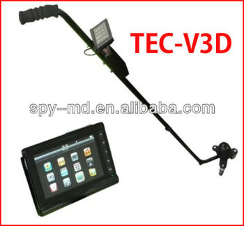 Under Vehicle Mirror TEC-V3D With DVR & Infrared Function Under Car Mirror
