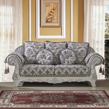 High Quality New Design Sofa Loveseat Chairs Complete Set Living Room Sofa Sets Antique and Vintage Sofas