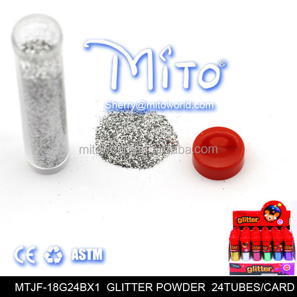 art glitter powder 18g tube