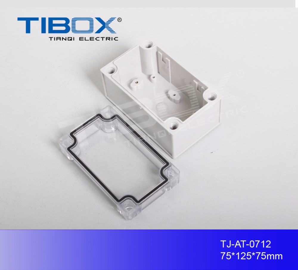 Electrical ABS or PC ip67 plastic enclosure