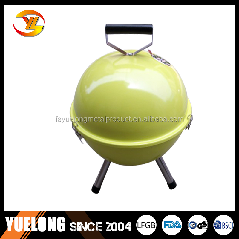 China cast iron barbecue / bbq grill wholesale, many colors for your choice YL2312B