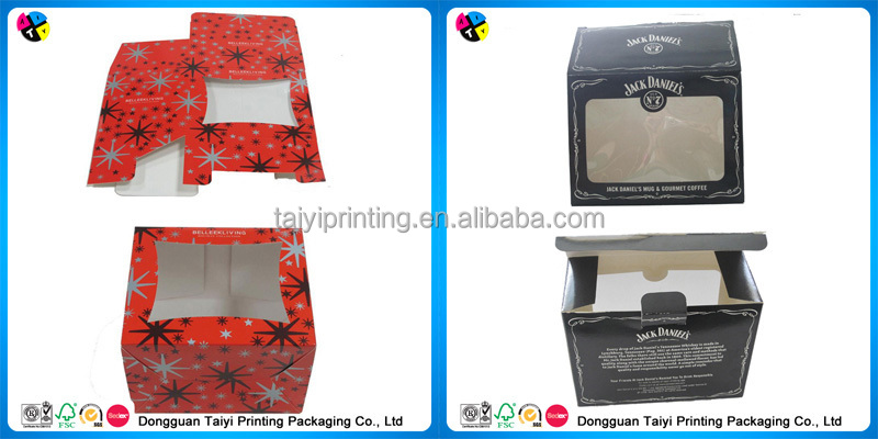 2015 customized printed paper shipping box