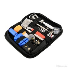 144pcs/lot/set Watchmaker Watch Repair Repairing Tools Kit Case Remover Opener Bar Set Convenience Brand Clock Tool