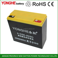 48v 20ah auto battery set 6 dzm 20 batterie for electric vehicle