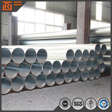 Astm a53 powder coated galvanized steel pipe, steel pipe for central air conditioner