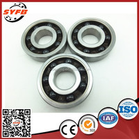 high temperature Si3N4 608 RS bearing with rubber sealed