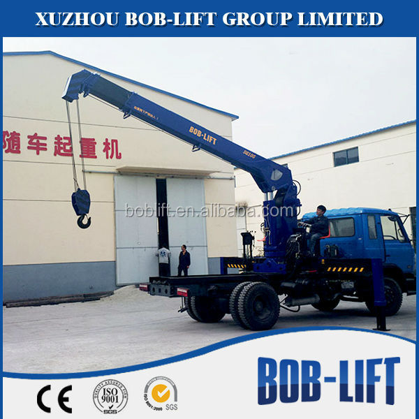 Telescopic Used Right Hand Drive 10 Ton Crane Truck for Sale