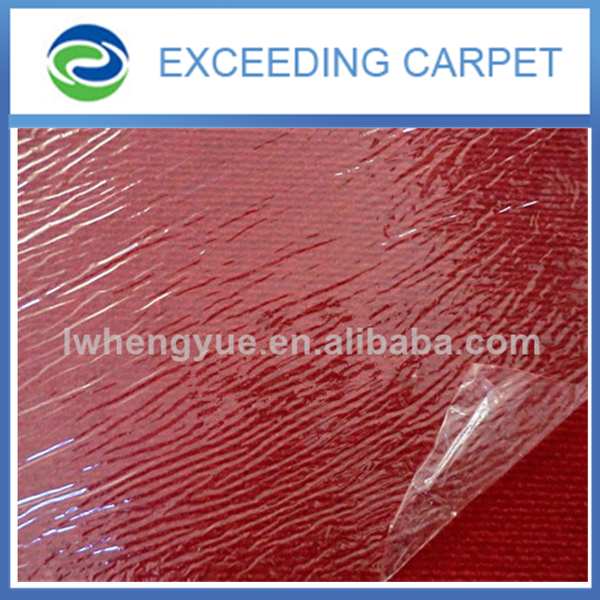 eco nonwoven carpet with pe coating