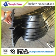 PVC and rubber ribbed center bulb waterstop