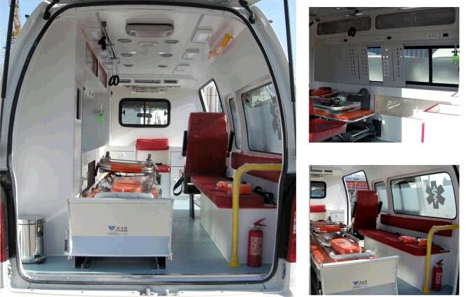 Hyundai Ambulance Whole Interior Equipment Aluminum Alloy