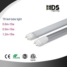 9W 15W 18W 24W 120lm/w 130lm/w 160lm/w LED Tube T8 Milky Cover 0.6M 1.2M 1.5M CE,RoHS Approval 50000hrs Tubos Lights
