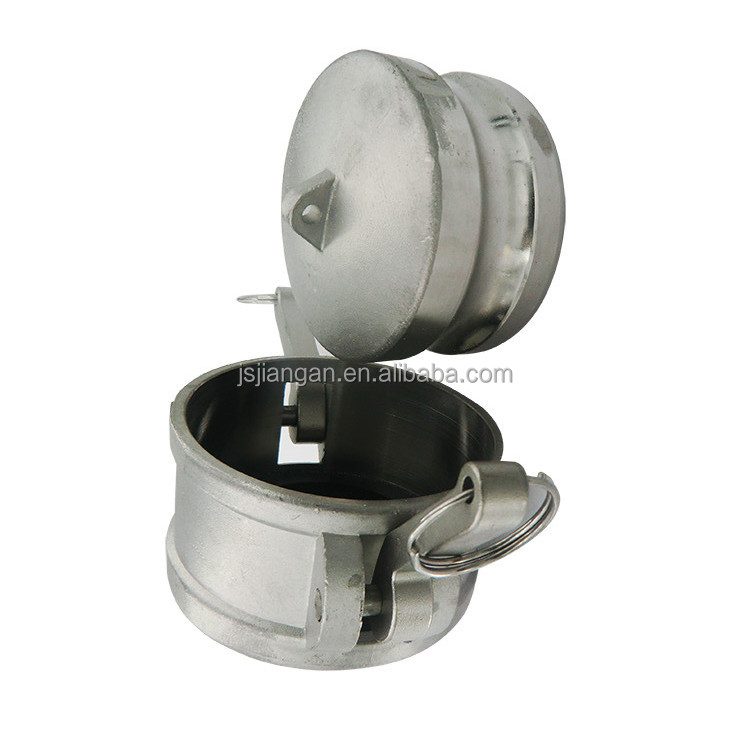 Stainless steel quick storz coupling with male thread