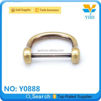 YHD the cheapest wholesale 2013 most fashion snap zinc alloy D/O-ring for leather bag/luggage/case/backpack accessory