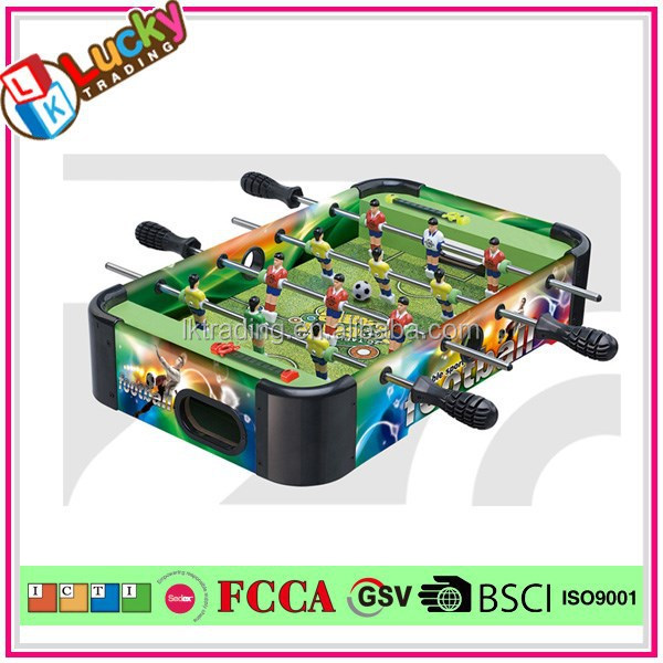 Funny MDF Wooden Football Table Children Table Foosball Machine Game Mini Soccer Toy For Baby