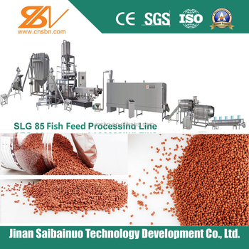 Large capacity Aquaculture fish feed lines