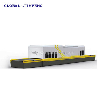 JF0810  good price flat glass tempering furnace oven for building glass